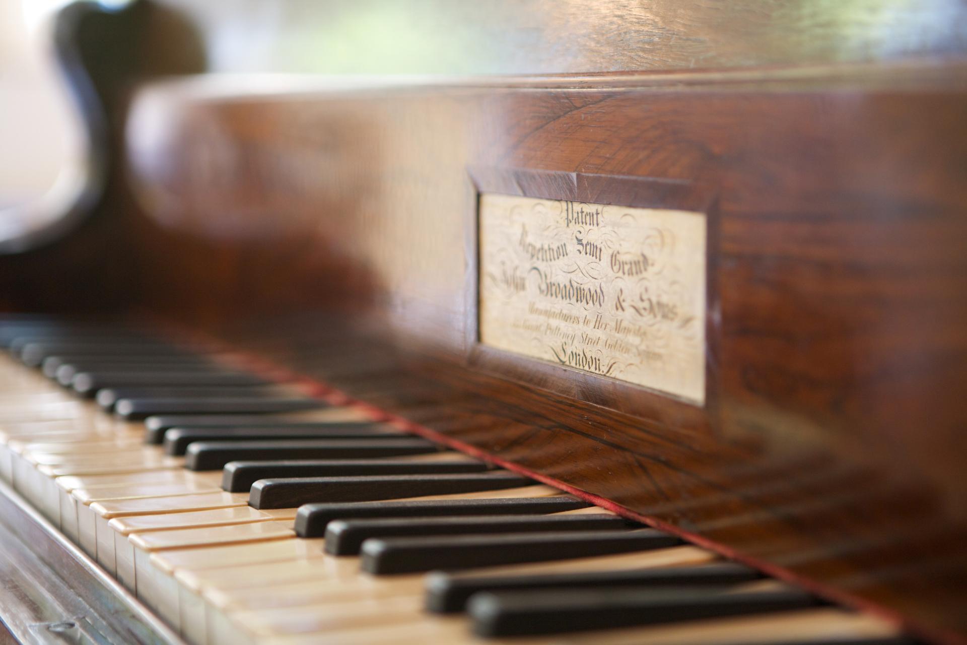 Broadwood Piano in Hotel Villa Meererbusch