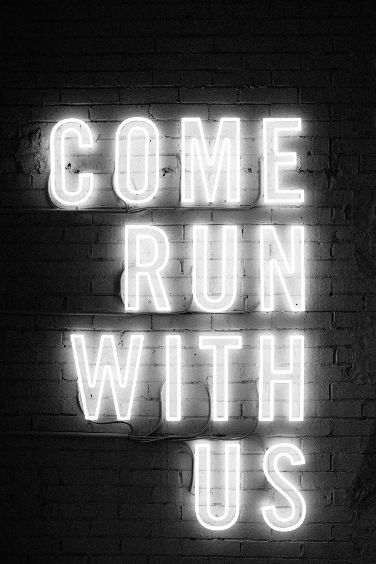 come run with us