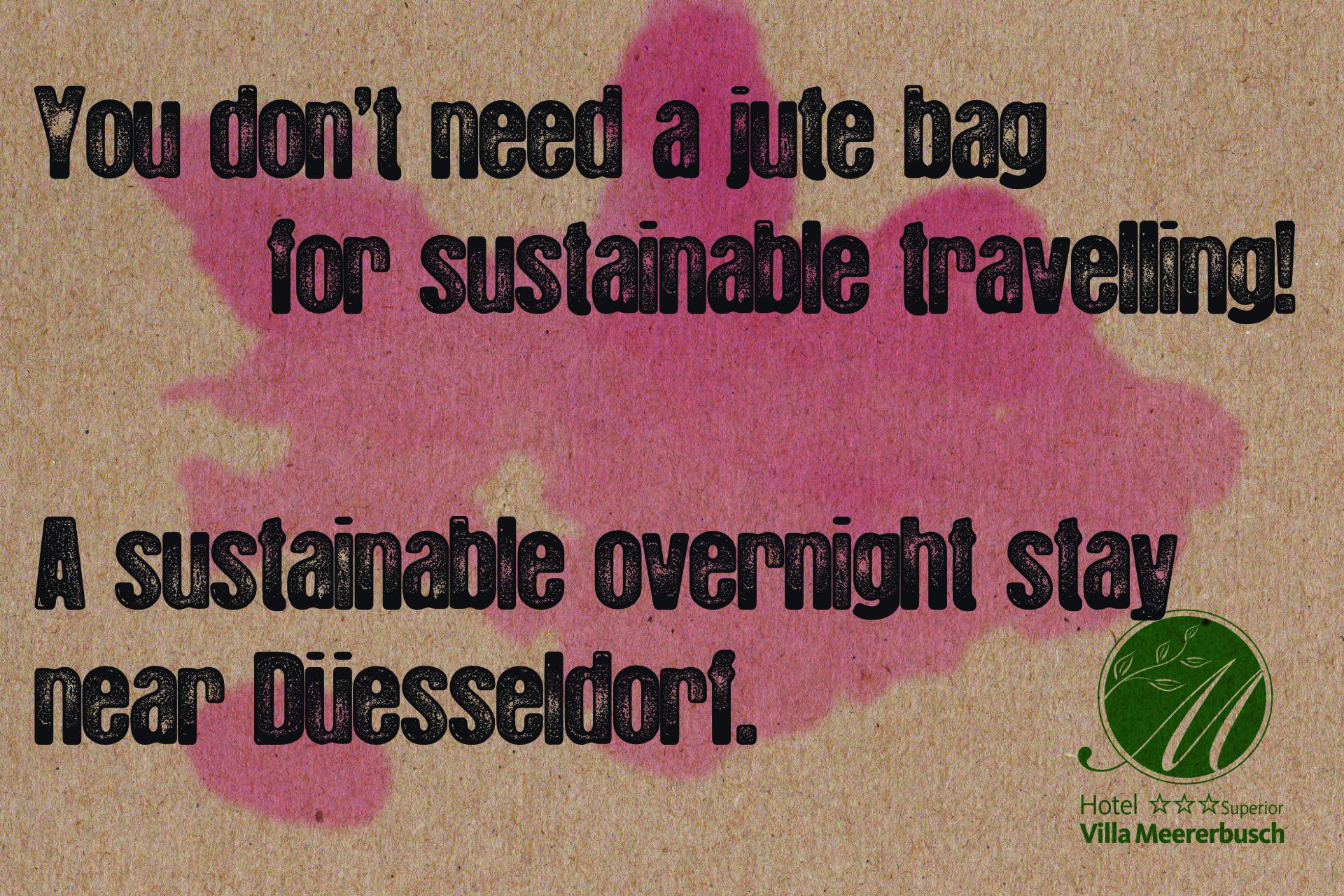 You don't need a junta bag for sustainable travelling!
